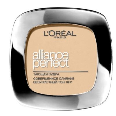 LOREAL ALLIANCE PERFECT Пудра для лица тон D5 тони моли пудра для лица spoiler oil paper pact тон 02 5г