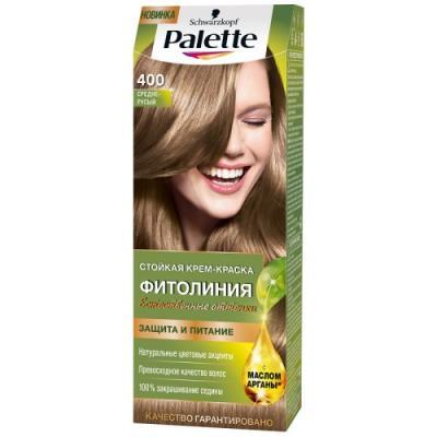 Palette ФИТОЛИНИЯ 400 Средне-русый 110 мл schwarzkopf professional краска для волос palette фитолиния без аммиака 25 оттенков 50 мл 900 черный 50 мл