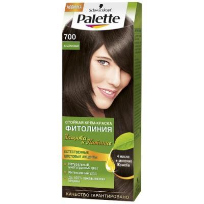 Palette ФИТОЛИНИЯ 700 Каштановый110 мл schwarzkopf professional краска для волос palette фитолиния без аммиака 25 оттенков 50 мл 900 черный 50 мл