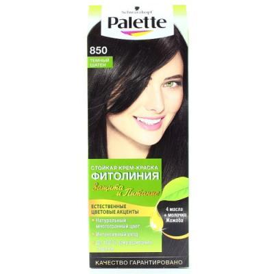 Palette ФИТОЛИНИЯ 850 Темный Шатен 110 мл schwarzkopf professional краска для волос palette фитолиния без аммиака 25 оттенков 50 мл 900 черный 50 мл