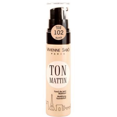 VS Матирующий тональный крем/ Mattifying foundation/ Fond de teint Matifiant Ton Mattin тон/shade 102 от 123.ru