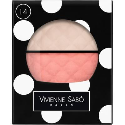 VS Румяна-хайлайтер двойные Blush-highliter Duo/ Fard a Joues Duo Teinte Delicate тон/shade 14 от 123.ru