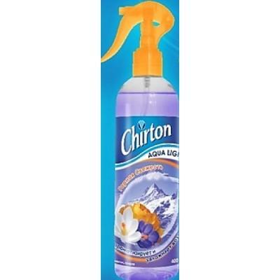 CHIRTON Освежитель воздуха водный Горная Свежесть 400мл
