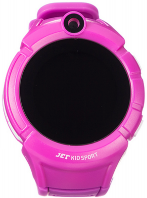Смарт-часы Jet Kid Sport сиреневый 2017 new mini facial skin care water oxygen jet peeling machine water jet cleaning machine for beauty salon