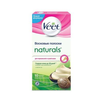 VEET Восковые полоски с маслом ши серии Naturals c технологией Easy Gel-wax 10шт attop xt 1 wifi 2 4g fpv drone camera 3d flip altitude hold foldable one key take off landing headless mode rc quadcopter