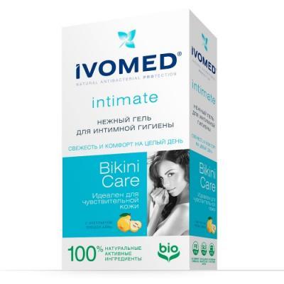 IVOMED Нежный гель д/интимной гигиены Bikini Care с экстрактом Айвы, 250 мл nivea гель для интимной гигиены 250 мл