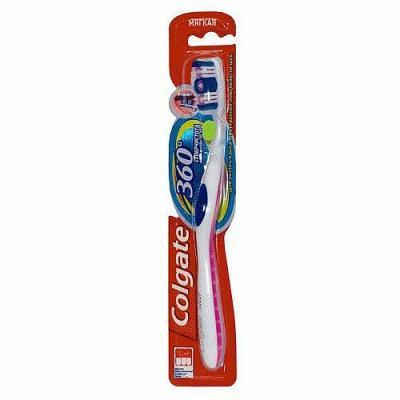 КОЛГЕЙТ Зубная щетка 360 Суперчистота всей полости рта мягкая сансяо зубная щетка для защиты десен