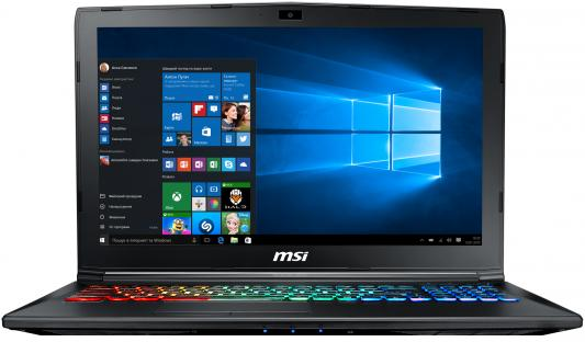 Ноутбук MSI GP62M 7REX Leopard Pro 15.6 1920x1080 Intel Core i7-7700HQ 9S7-16J9B2-1669 ноутбук msi gp72 6qf 274ru leopard pro 17 3 1920x1080 intel core i5 6300hq 9s7 179553 274
