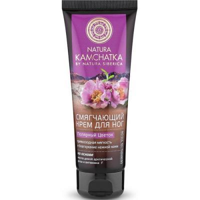 цена NATURA KAMCHATKA Крем для ног Полярный цветок Мягкость и благоухание нежной кожи 75мл