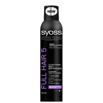 "Фото Мусс для волос SYOSS ""Full Hair 5"" 250 мл"