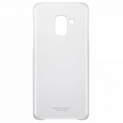 Чехол Samsung для Samsung Galaxy A8 Clear Cover прозрачный EF-QA530CTEGRU чехол накладка samsung clear cover для samsung galaxy a7 2017 поликарбонат clear прозрачный ef qa720ttegru