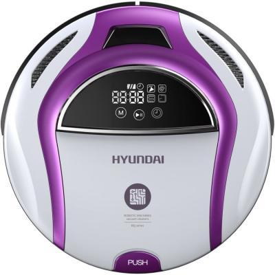 Робот-пылесос Hyundai H-VCRQ70 сухая влажная уборка белый фиолетовый пылесос hyundai h vcb01