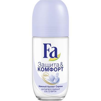 Дезодорант-антиперспирант Fa Защита & Комфорт 50 мл цветочный 2113357 антиперспирант maxim dabomatic 30% дезодорант максим