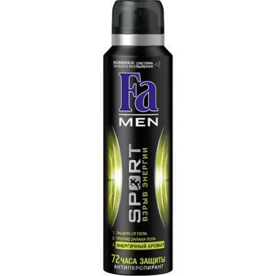 Дезодорант-антиперспирант Fa Sport: Взрыв Свежести 150 мл дезодорант fa fa fa033lwsis37