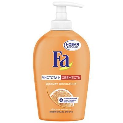 Мыло жидкое Fa Чистота и Уход 250 мл 2047681 косметика для мамы fa жидкое мыло чистота и свежесть лайм 250 мл