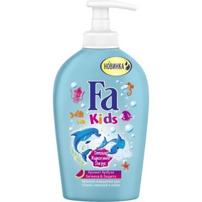 Мыло жидкое Fa Гигиена & защита - Аромат Арбуза 250 мл dove жидкое крем мыло прикосновение свежести 250 мл