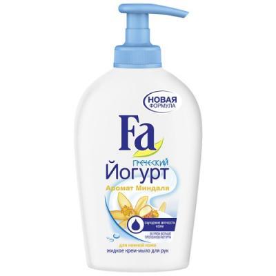 FA Жидкое крем-мыло Греческий Йогурт Миндаль 250мл косметика для мамы fa жидкое крем мыло греческий йогурт миндаль 250 мл