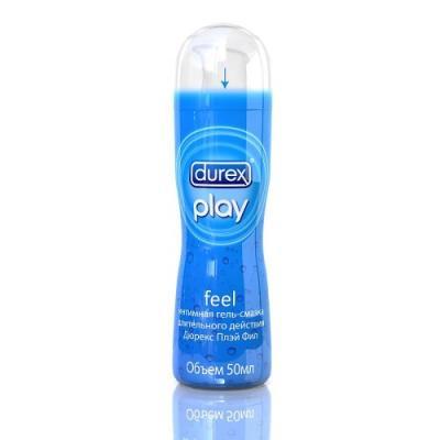 DUREX Гель-смазка интимная Play Feel классическая длительного действия 50мл смазка other