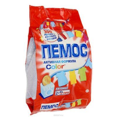 ПЕМОС Порошок стиральный Автомат Колор 2кг пемос стиральный порошок колор пемос 2 кг