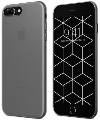 Накладка Vipe Ultra Slim для iPhone 7 Plus iPhone 8 Plus чёрный прозрачный VPIP7PFLEXBLK накладка vipe color для iphone x чёрный vpipxcolblk