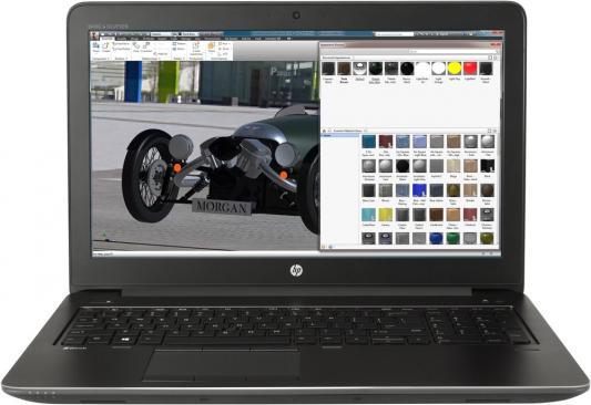 Ноутбук HP ZBook 15 G4 15.6 1920x1080 Intel Core i7-7820HQ 1RR21ES ноутбук hp zbook 15 g3 y6j59ea y6j59ea