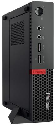 Неттоп Lenovo ThinkCentre M710q Tiny Intel Core i3 7100T 4 Гб 1 Тб Intel HD Graphics 630 Windows 10 Pro (10MR005KRU) моноблок lenovo v510z ms 10nq003tru i3 7100t 3 4 4gb 1tb 23 fhd hd graphics 630 win10 pro black