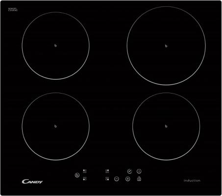 Варочная панель электрическая Candy CI 640 CB черный варочная панель электрическая candy ci 640 cb черный