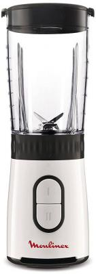 Блендер стационарный Moulinex LM130110 350Вт чёрный белый блендер moulinex lm130110 white black