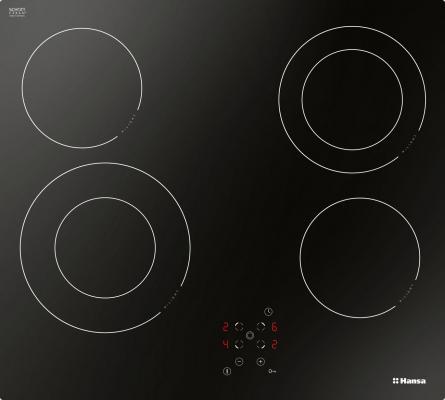 Варочная панель электрическая Hansa BHC66506 черный цена