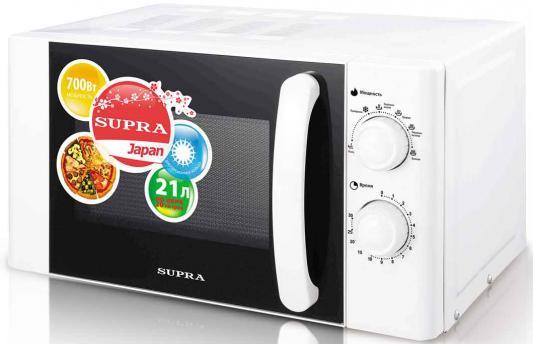 СВЧ Supra 20MW60 700 Вт белый кастрюля supra svs 2491c