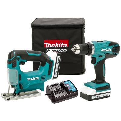 Набор инструментов Makita DK18298X1 6шт makita vc2012l