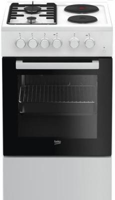 Комбинированная плита Beko FSS 54010 DW белый
