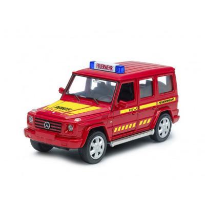Джип Welly Mercedes-Benz G-CLASS Пожарная 1:32 красный 39889GF mercedes а 160 с пробегом
