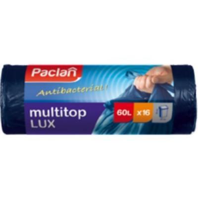 PACLAN Мешки для мусора MULTI-TOP LUX 60л 16шт 80x60/75x60см цена
