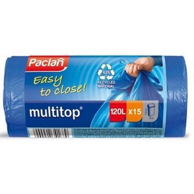 PACLAN Мешки для мусора MULTI-TOP 120л 15шт