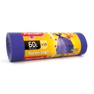 Paclan Мешки для мусора BUNNY BAGS Aroma 60л 15 шт цена