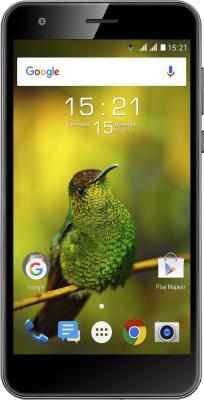 Смартфон Fly FS530 Power Plus XXL черный 5 8 Гб LTE Wi-Fi GPS 3G 4G смартфон fly fs512 nimbus 10 4g lte 8gb black