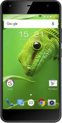 Смартфон Fly FS517 Cirrus 11 черный 5 8 Гб LTE Wi-Fi GPS 3G 4G смартфон fly fs512 nimbus 10 4g lte 8gb black