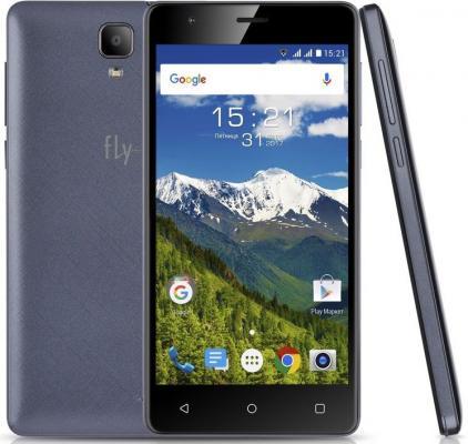 Смартфон Fly FS516 Cirrus 12 синий 5 8 Гб LTE Wi-Fi GPS 3G fly fs502 cirrus 1