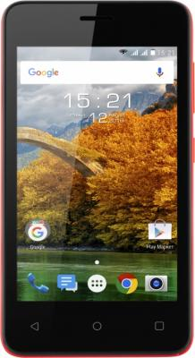 "Смартфон Fly FS408 Stratus 8 красный 4"" 8 Гб Wi-Fi 3G цена и фото"