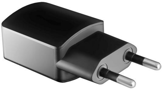 Сетевое зарядное устройство GINZZU GA-3003B USB 1.2A черный