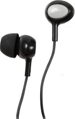 Наушники Ritmix RH-022 черный серый аудио наушники ritmix гарнитуры ritmix rh 565m gaming