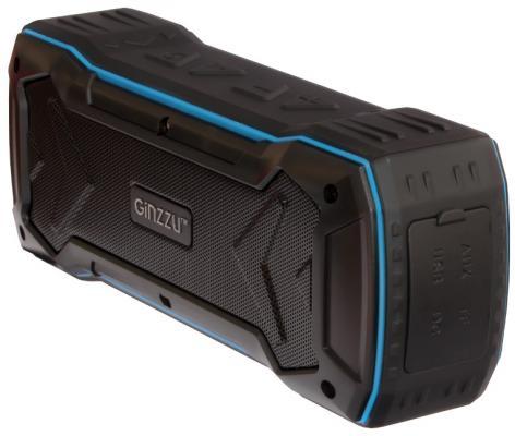 Портативная акустика Ginzzu GM-874B черный