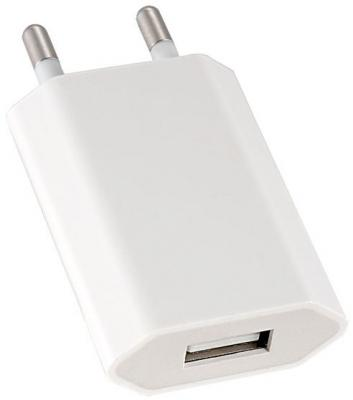 Сетевое зарядное устройство Perfeo I4605 USB 1A белый сетевое зарядное устройство apple usb мощностью 5 вт md813zm a