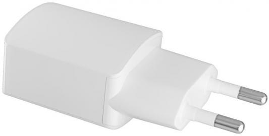 Сетевое зарядное устройство GINZZU GA-3003W USB 1.2A белый ginzzu ga 3003w white сетевое зарядное устройство 1 2 a