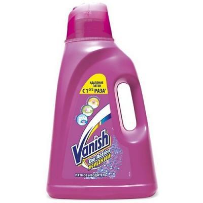 VANISH OXI Action Пятновыводитель специальный для тканей 2л пятновыводитель vanish oxi action 2 4 кг