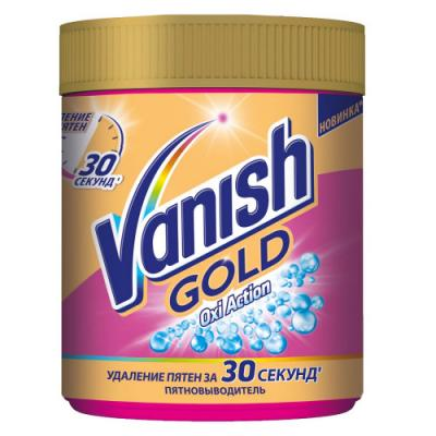 Пятновыводитель VANISH Gold OXI Action 500г 3025348 vanish oxiaction 250 1090945