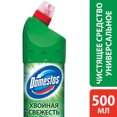 DOMESTOS Средство универсальное чистящее Хвойная свежесть 500мл средство чистящее domestos лимонная свежесть 1000мл