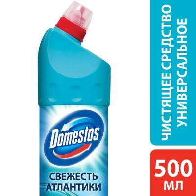 DOMESTOS Чистящее средство Свежесть Атлантики 500мл средство чистящее domestos хвойная свежесть 1000мл