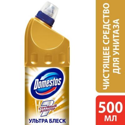 DOMESTOS Средство чистящее для унитаза Ультра блеск 500мл domestos
